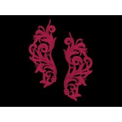 Gipiura Freedom motif CHERRY RED