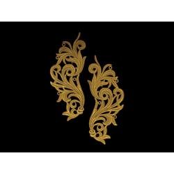 Gipiura Freedom motif BRIGHT GOLD