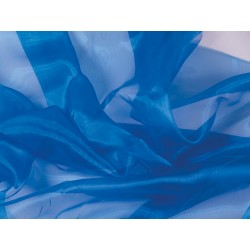 Organza ELECTRIC BLUE
