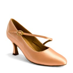 Buty damskie do standardu C2003 - FLESH SATIN