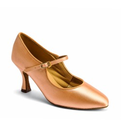 Buty damskie do standardu C2005 - FLESH SATIN