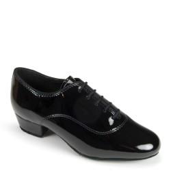 Buty chłopięce do standardu CONTRA - BLACK PATENT