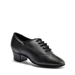 Buty chłopięce do łaciny MST - BLACK CALF