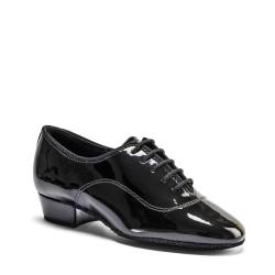 Buty chłopięce do standardu MT - BLACK PATENT