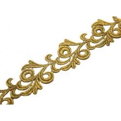 Gipiura Victoria ribbon BRIGHT GOLD