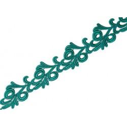 Gipiura Victoria ribbon JADE