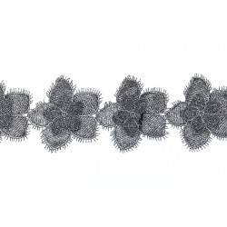 Gipiura Sienna ribbon GUNMETAL