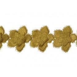Gipiura Sienna ribbon VINTAGE GOLD