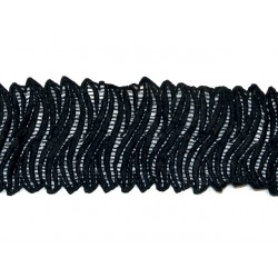 Gipiura Alanis ribbon BLACK