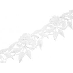 Gipiura Rose-Anne ribbon WHITE