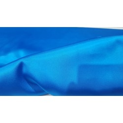 Stretch Satin ELECTRIC BLUE